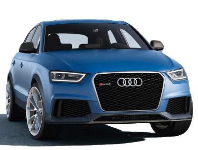 Présentation de l'Audi RS Q3 Concept de 2012.