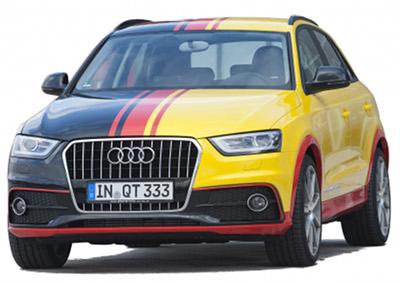 Présentation de la MTM Audi Q3 TSFI Quattro de 2012, préparation basée sur l'Audi Q3.
